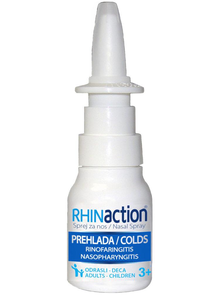 Rhinaction-prodisite-ponovo - rastvor koji otpušava, pročišćava nosne kanale i rešava problem zapušenog nosa